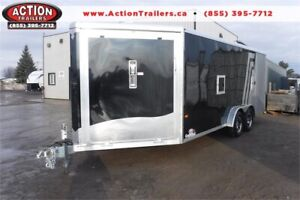 NEO 7.5 X 22 DRIVE IN/OUT NEO ALL ALUMINUM SNOWMOBILE HAULER!