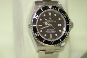 Rolex 16600 Seadweller Z series  with all boxes and papers