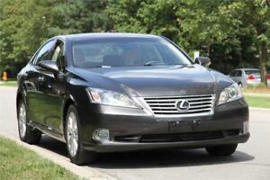 2010 Lexus ES350 ULTRA PREMIUM *LOW KM* NAVI BACKUP LEATHER ROOF