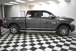 2017 RAM 1500 LTD LONGHORN CREW 4X4 - INCL.  ATV OR SNOW SLED