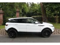 "13 PLATE RANGE ROVER EVOQUE 36,765 MILES BLACK PACK PANROOF 20"" ALLOYS 1 PRE OWN"