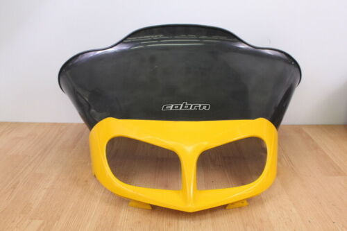 1999 SKI-DOO SUMMIT 600  Aftermarket Windshield with Headlight Cover