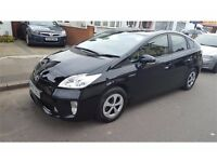 TOYOTA PRIUS BLACK HATCHBACK £14495, Fully Serviced by Toyota Dealership, 1 owner