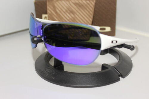 Oakley Conduct  Sunglasses Polished White/Violet Iridium 05-274 Rare 2008