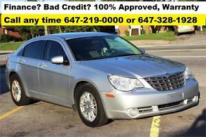 2008 Chrysler Sebring  FINANCE 100% APPROVED Certified E-TEST