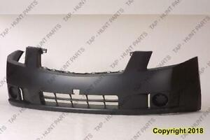 Bumper Front Primed 2.0L Without Fog Exclude Sr Model CAPA Nissan SENTRA 2007-2009