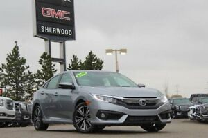 2016 Honda Civic EX-T CVT| Sun| Heat Buckets| RV Cam| BT| 17 Rim