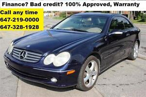2004 Mercedes-Benz CLK-Class CLK320 Auto FINANCE WARRANTY MINT
