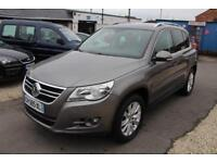 LHD 2008 VOLKSWAGEN TIGUAN 2.0 TDI 4MOTION 5 Door FRENCH REGISTERED