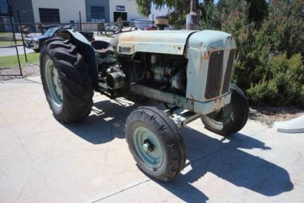 1950s Fordson Major Diesel Tractor