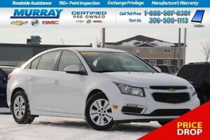 2015 Chevrolet Cruze LT FWD*REMOTE START,CLIMATE CONTROL*