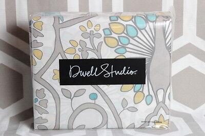 Dwell Studio Sham - Dwell Studio Dwellstudio Victoria Citrine Full Queen Duvet & Shams Peacock $170