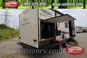 2016 Freedom Express 231RBDS Travel Trailer with Camp Kitchen