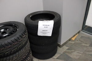 Michelin X-Ice P225/50R17 Installed and Balanced