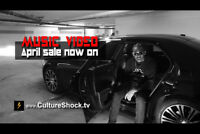 ★   --  the $450 MUSIC VIDEO   -  April sale now on!