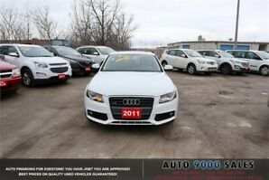 2011 Audi A4 2.0T FULLY LOADED, SUNROOF, LEATHER