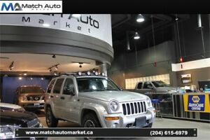 *Safetied* 2003 Jeep Liberty Renegade *Leather* *Sunroof* *AC*