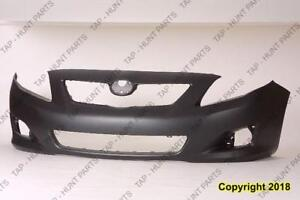 Bumper Front Primed Ce/Le/Xle Models High Quality Toyota Corolla 2009-2010