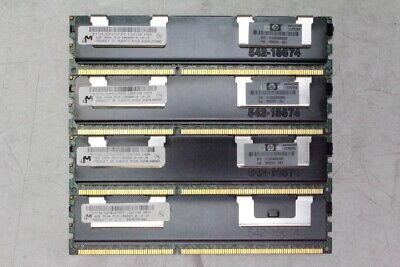 16GB (4x4GB) Micron PC3-10600R DDR3 ECC Server Memory RAM MT36JSZF51272PZ-1G4F1