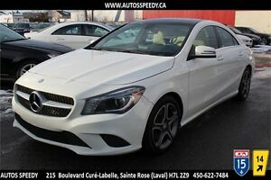 2014 MERCEDES CLA 250 CAMERA/XENON/TOIT PANORAMIC/GARANTIE