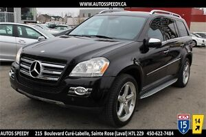 2009 MERCEDES GL550 4MATIC/AWD NAVIGATION/CAMERA/XENON/PREMIUM