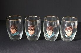 The Beatles 1963 Drinking Glasses Set (UK)