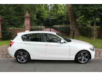 63 PLATE BMW 116i SPORT 5 DOOR WHITE 1 OWNER 36,121 MILES IMPECCABLE EXAMPLE