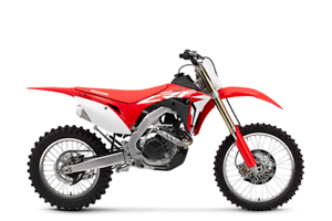 New 2017 Honda CRF450RX
