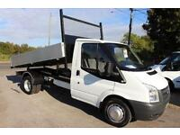 Ford Transit 2.4TDCi Duratorq ( 100PS ) 350M 1-Way TIPPER 3300mm 2008.75 350 MWB