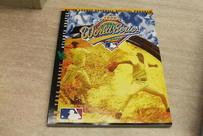 1996 World Series Official Program Mlb New York Yankees Vs Atlanta Braves