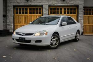 2007 Honda Accord Sdn SE ALLOYS SUNROOF