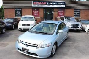 2007 Honda Civic Hybrid ACCIDENT FREE - CLEAN UNIT