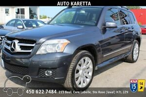 2010 MERCEDES GLK350 4MATIC/AWD TOIT PANORAMIC, CLEAN CARPOOF