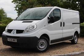 2009 Renault Trafic Van 2.0TD SL27dCi 90 *85300 Miles* 3 Seats Air Con