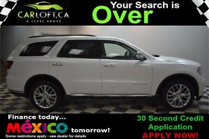 2015 Dodge Durango CITADEL AWD - LOW KMS**SUNROOF**LEATHER**NAV