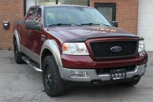 2004 Ford F-150 XLT Supercrew 4X4 *NO ACCIDENTS, CERTIFIED*