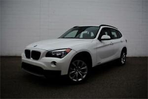 2014 BMW X1 XDRIVE   AWD   CERTIFIED   LOW KM   ONLY 141 B/W  