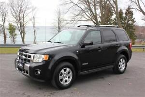 2008 Ford Escape Limited - Leather| Sunroof| Navigation