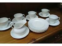 Vintage Tuscan Tea Set