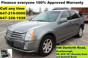 2005 Cadillac SRX Auto Leather Panorama Roof FINANCE WARRANTY