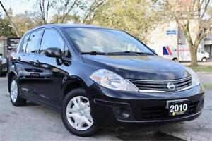 2010 Nissan Versa 1.8 S - Accident Free - Certified!
