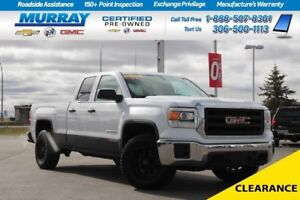 2014 GMC Sierra 1500 Double Cab *BENCH SEAT,CRUISE CONTROL*