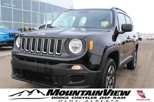 2016 Jeep Renegade Sport 4WD!
