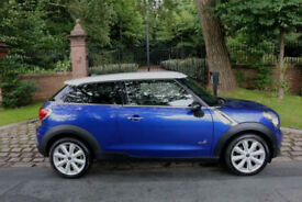 63 PLATE MINI PACEMAN 1.6 COOPER D ALL4 CHILI PACK LEATHER 1 PRE OWN 49524 MILES
