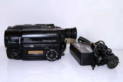 Sony Handycam CCD-TR315E 8mm Video8 XR Cassette Camcorder Camera Sydney City Inner Sydney Preview