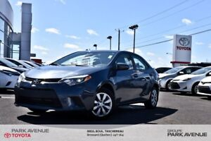 2014 Toyota Corolla LE CAM REC*BANCS CHAUF*CRUISE*BLUE*