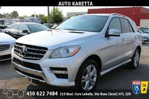 2015 MERCEDES ML350 BLUETEC 4X4 NAVIGATION, CAMERA, PANORAMIC