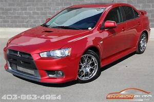 2011 Mitsubishi LANCER EVOLUTION MR EVO X \ RECARO LEATHER SEATS