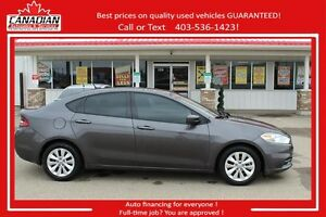 2014 Dodge Dart Aero TURBO FUN! Low kms $15900 FINANCING FOR ALL