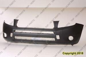 Bumper Front Primed Without Flare Base/Limited Model CAPA Toyota Rav4 2006-2008